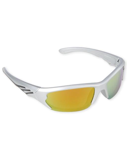 Toddler Boys Striped Sport Wrap Sunglasses