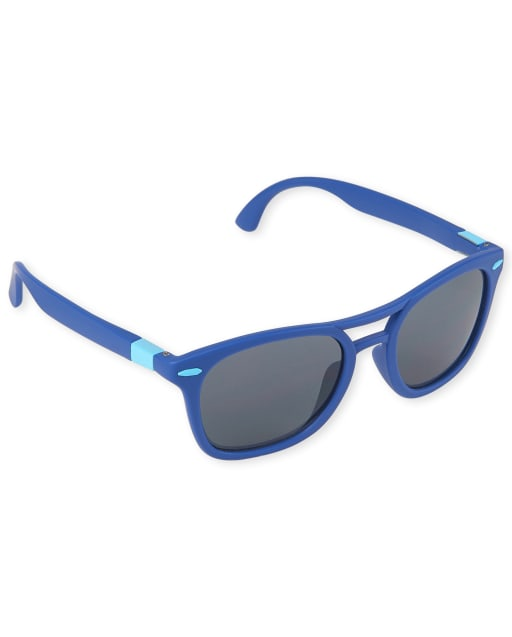 Toddler Boys Colorblock Retro Sunglasses