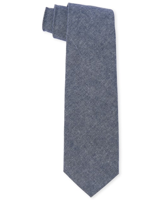 Boys Easter Chambray Tie
