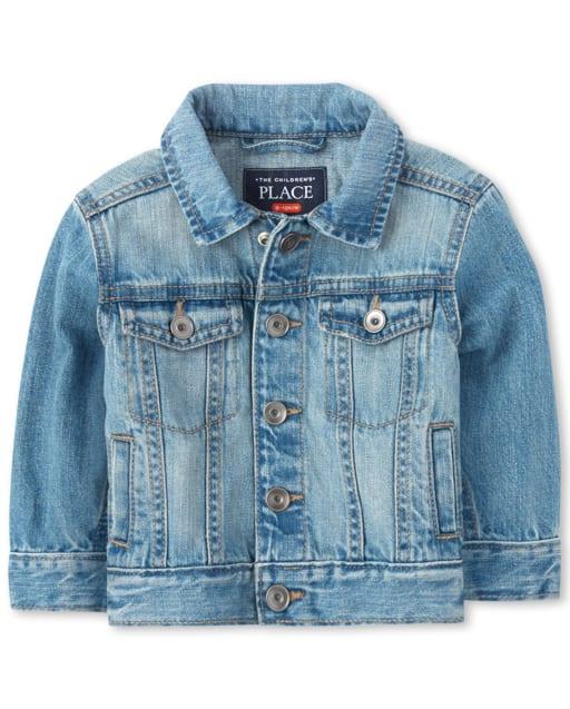 Toddler Boys Long Sleeve Denim Jacket