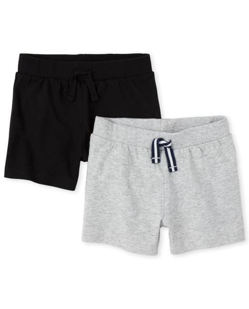 Baby Boys Knit Shorts 2-Pack