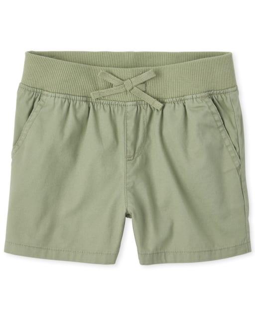 Girls Pull On Matching Shorts
