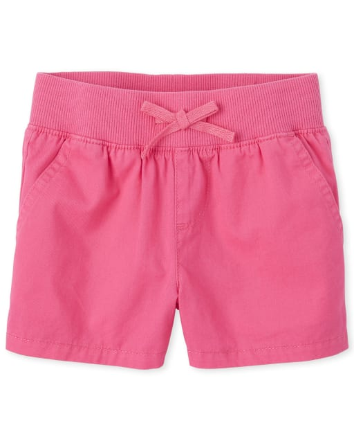 Girls Pull On Matching Shorts