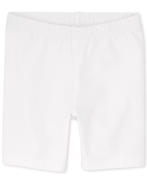 Baby And Toddler Girls Mix And Match Knit Bike Shorts