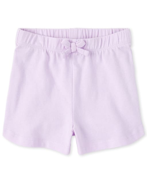 Baby And Toddler Girls Mix And Match Knit Shorts