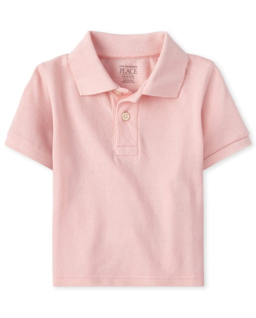 Baby And Toddler Boys Easter Short Sleeve Pique Matching Polo