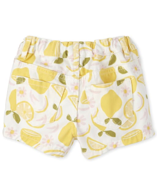 Truluv Girls Summer Meadow Floral Flounce Shorts