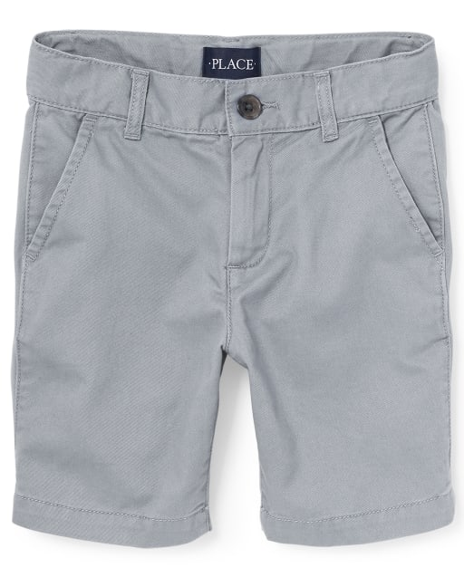 Boys Stretch Woven Chino Shorts