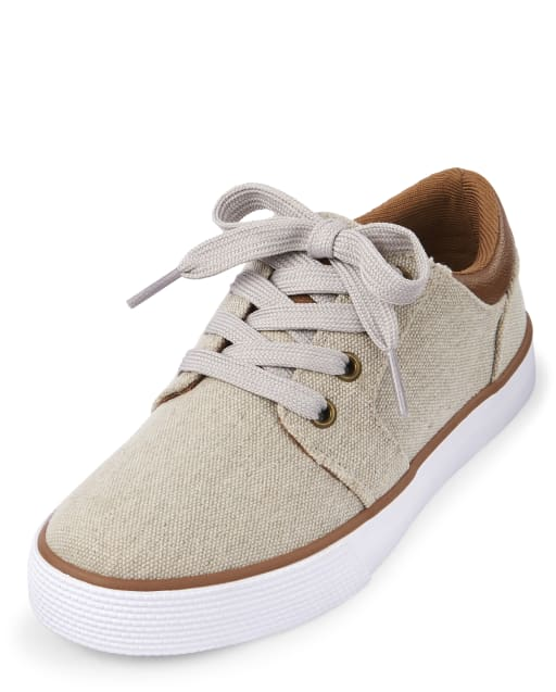 Boys Easter Matching Canvas Sneakers