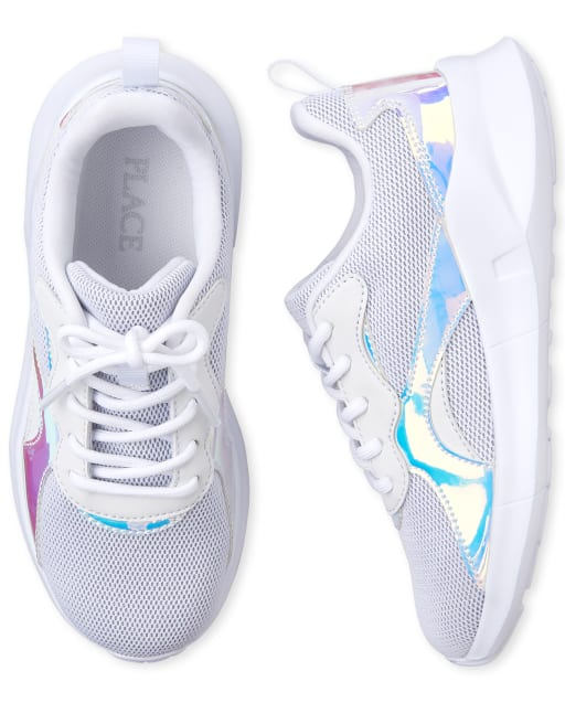 holographic glitter shoes