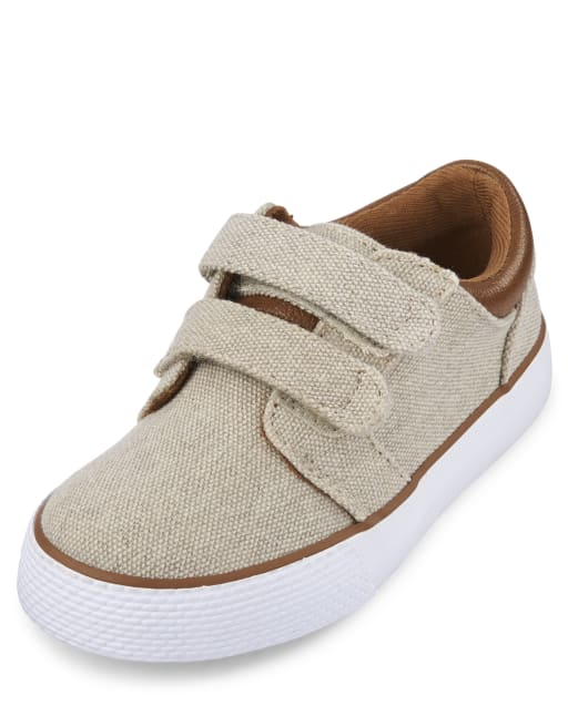 Toddler Boys Easter Matching Canvas Sneakers