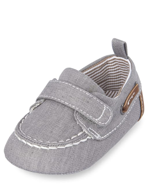 Baby Boys Easter Chambray Boat Shoes