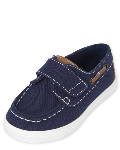 Toddler Boys Easter Matching Boat Shoes