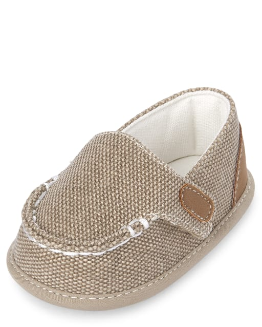 Baby Boys Easter Canvas Loafers