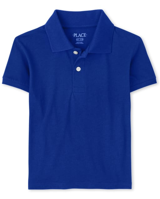 Boys Uniform Short Sleeve Jersey Polo