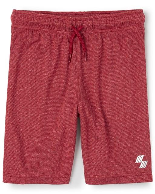 Boys PLACE Sport Marled Knit Performance Basketball Shorts