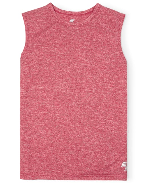Boys PLACE Sport Sleeveless Marled Muscle Tank Top
