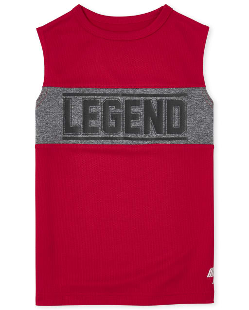 Boys PLACE Sport Sleeveless Graphic Performance Muscle Top