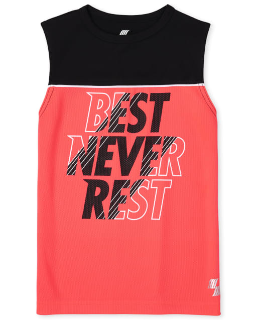 Boys PLACE Sport Sleeveless Graphic Performance Muscle Tank Top
