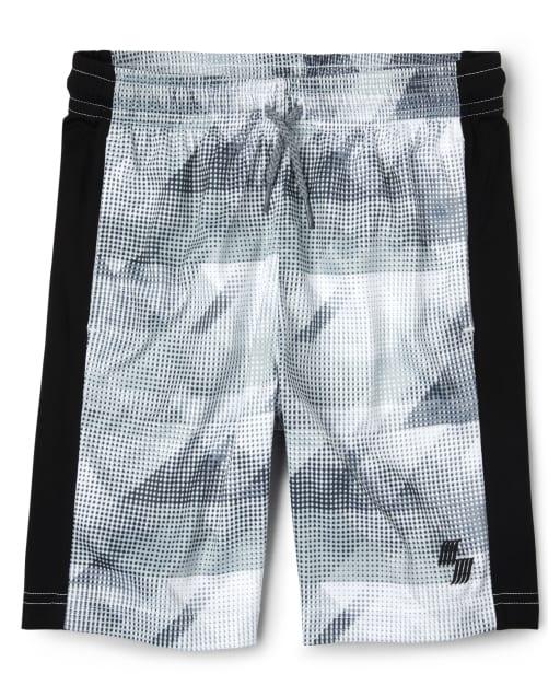 Boys PLACE Sport Side Stripe Knit Performance Basketball Shorts
