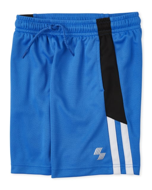 Boys PLACE Sport Side Stripe Knit Performance Basketball Shorts