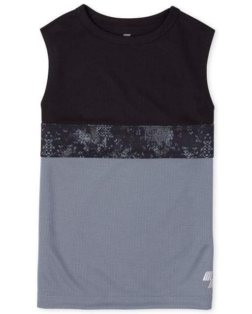 Boys PLACE Sport Sleeveless Colorblock Performance Tank Top