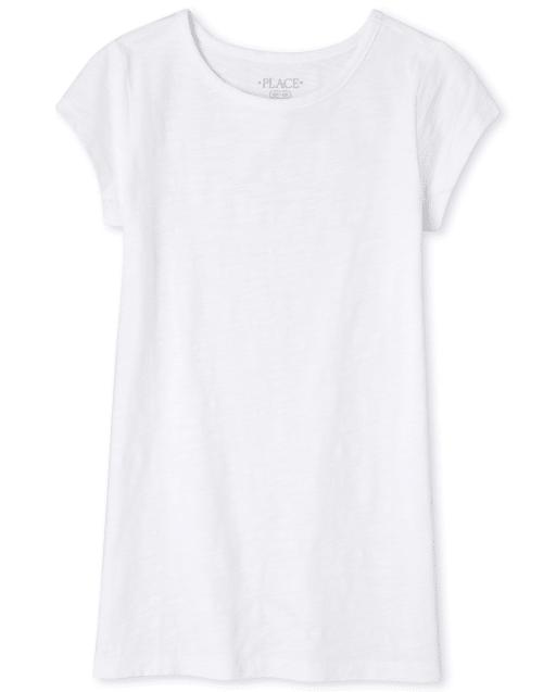 Girls Short Sleeve Tunic Top