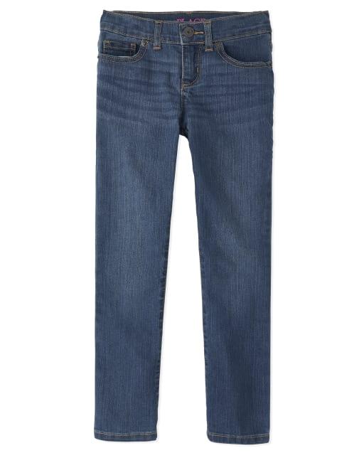 Girls Basic Stretch Skinny Jeans