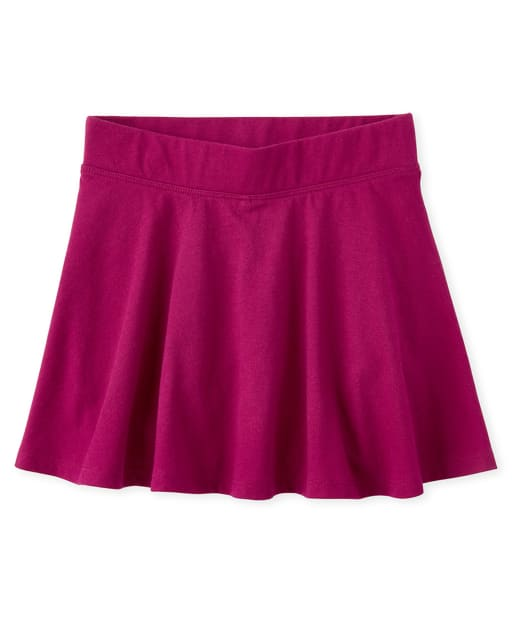 Girls Mix And Match Knit Skort