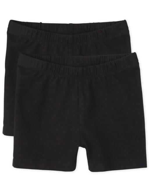 Girls Knit Cartwheel Shorts 2-Pack