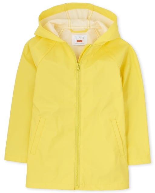 Girls Long Sleeve Raincoat