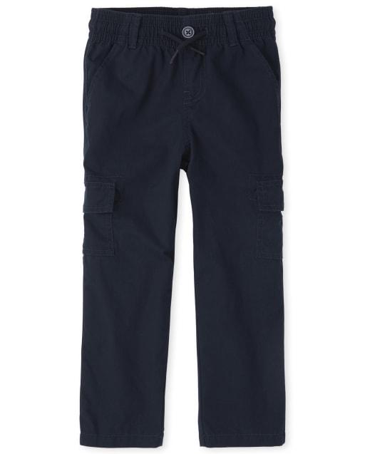 Pantalones de carga ajustados y uniformes para niños