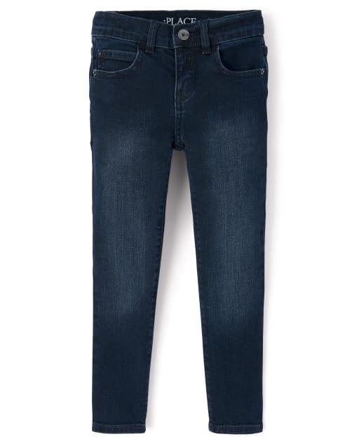 Boys Basic Skinny Stretch Jeans - Taft Wash