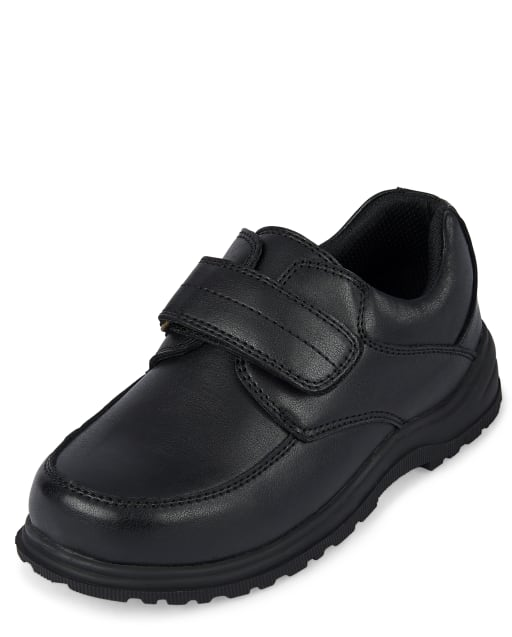 Boys Uniform Faux Leather Dress Shoes