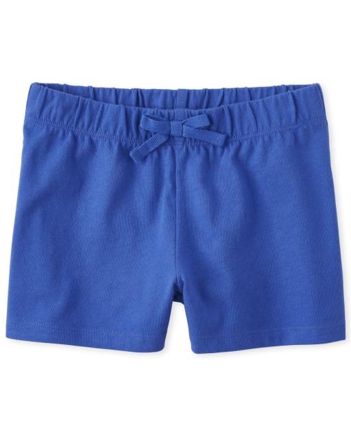 Girls Mix And Match Knit Shorts