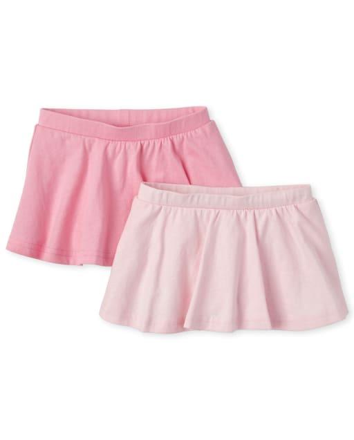 Baby Girls Knit Skort 2-Pack