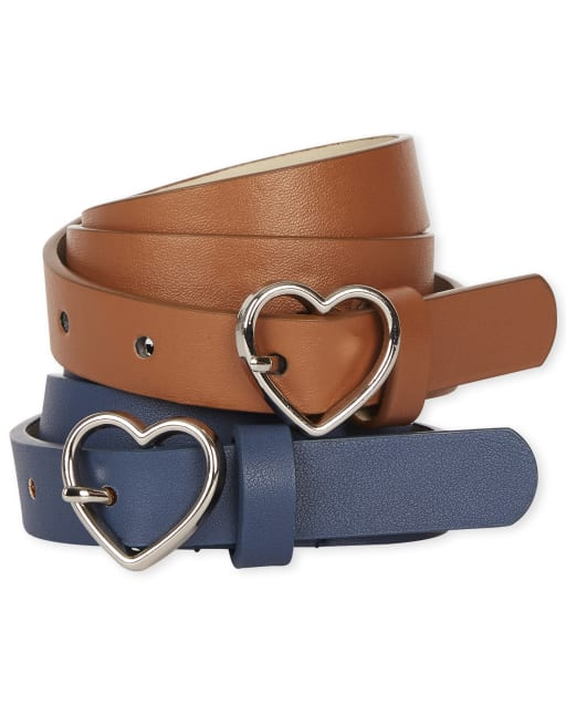 Girls Uniform Belt 2-Pack