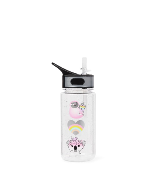 Girls Critter Water Bottle