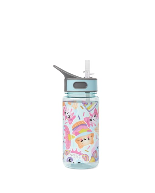 Girls Dessert Critter Water Bottle