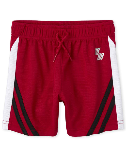 Baby And Toddler Boys PLACE Sport Side Stripe Performance Basketball Shorts