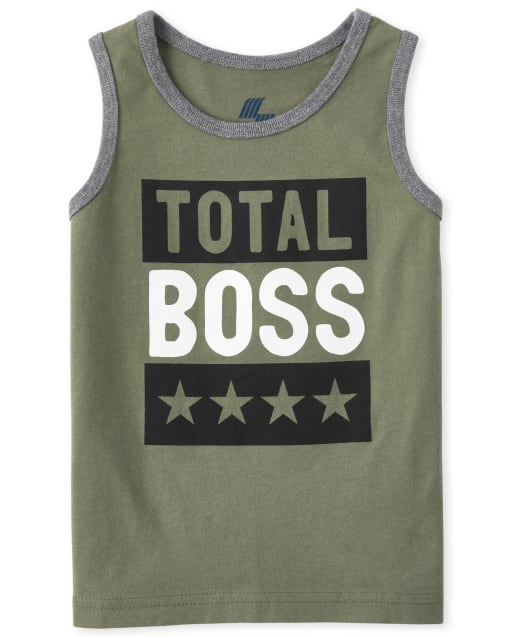 Baby And Toddler Boys Mix And Match Sleeveless Graphic Tank Top