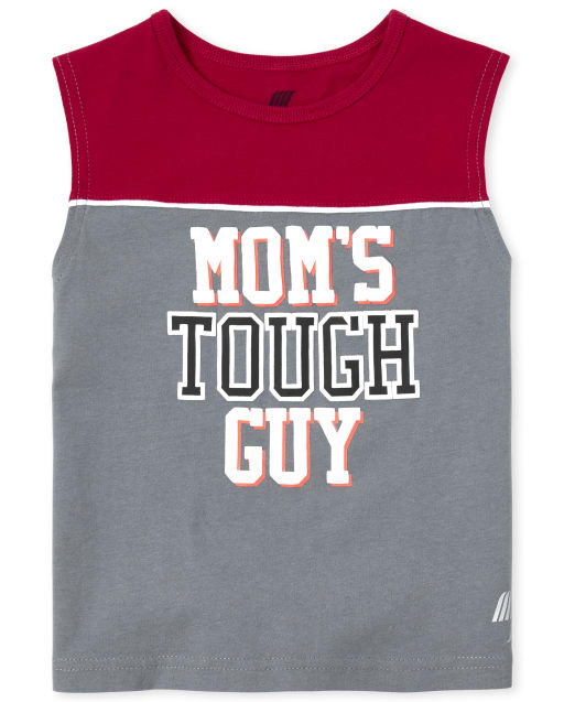 Baby And Toddler Boys PLACE Sport Sleeveless Graphic Muscle Tank Top