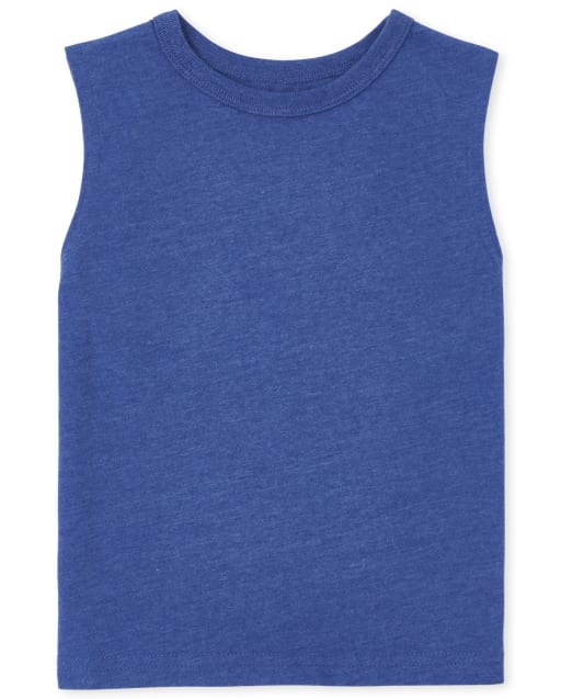 Baby And Toddler Boys Mix And Match Sleeveless Muscle Tank Top