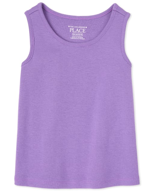 Baby And Toddler Girls Sleeveless Tank Top