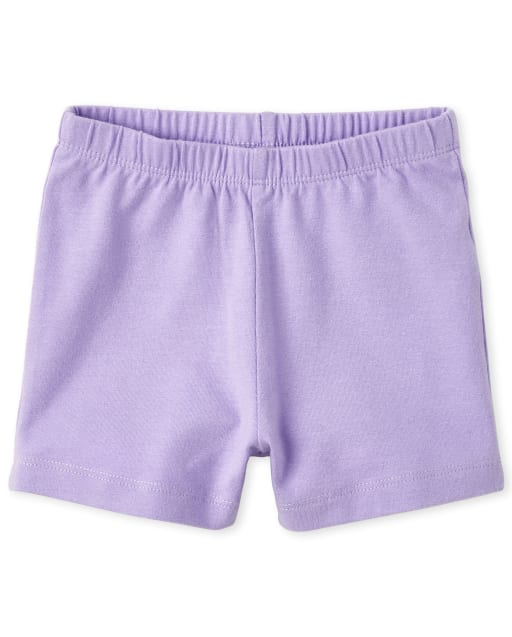 Baby And Toddler Girls Knit Cartwheel Shorts