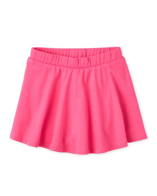Baby And Toddler Girls Mix And Match Knit Skort