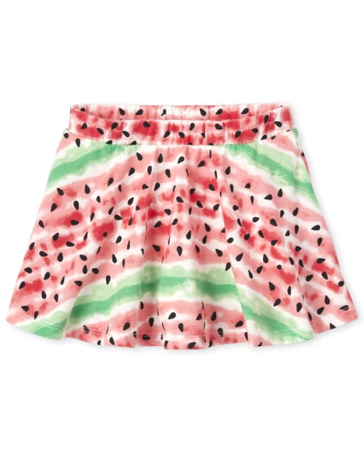 Baby And Toddler Girls Mix And Match Print Knit Skort