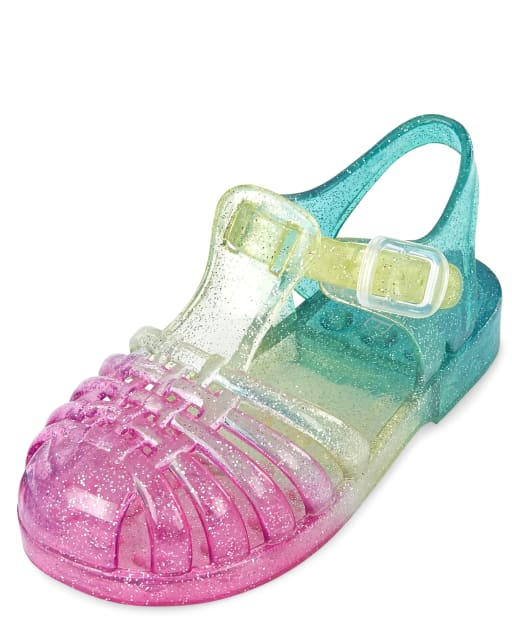 Toddler Girls Glitter Ombre Matching