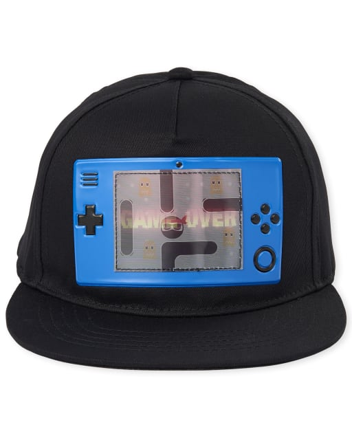 Boys Holographic Lenticular Video Game Baseball Hat