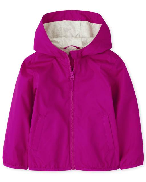 Toddler Girls Uniform Long Sleeve Windbreaker Jacket